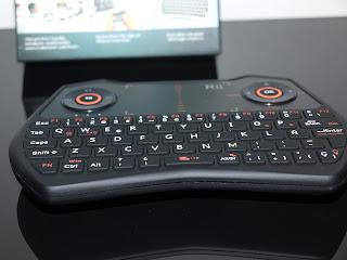 Análise Teclado Rii Mini One i28 11