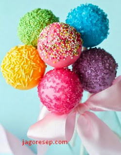 Resep Candy Pop Coklat (Pop Candy Chocolate Recipe)
