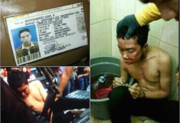 Foto Pembunuh Dosen UMSU