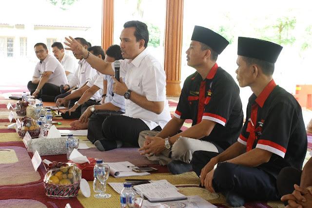 Asosiasi BPD Se Kabupaten Muba Temui Plt Bupati
