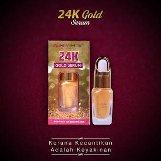 AURAWHITE 24K GOLD SERUM