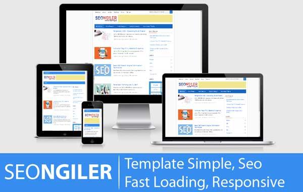 Template seo fast loading SEONGILER