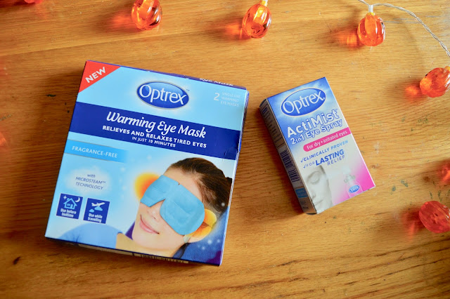 optrex warming mask review