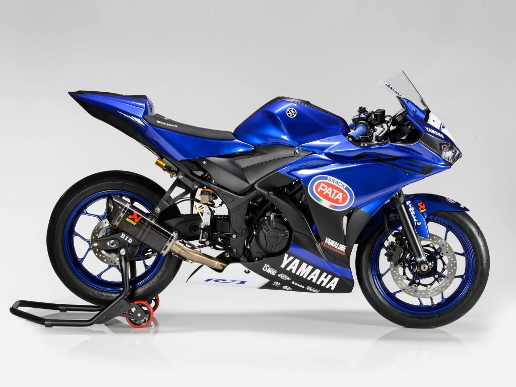 Wujud Yamaha YZF-R3 yang akan ikut balapan di World SSP300 musim 2017