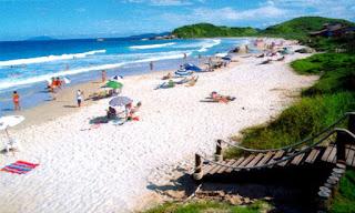 bombinhas en auto a brasil praia Quatro ilhas