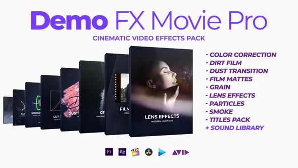 VideoHive Demo FX Movie Pro cinematic effects 24975954