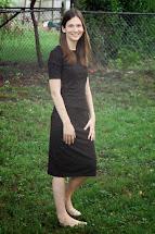 Barefoot Woman Wearing Skirt