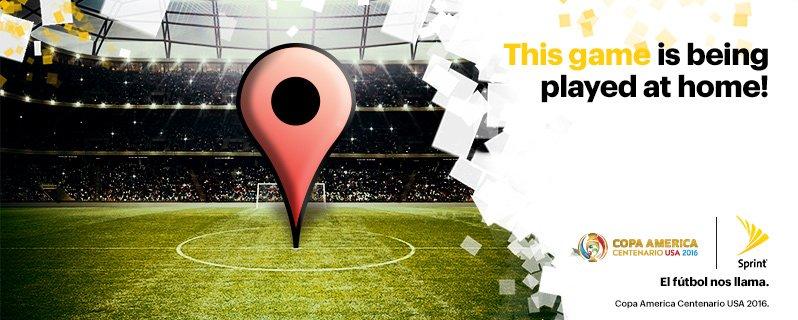 Copa Centenario Sprint #FanHQ Houston events
