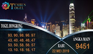 Prediksi Togel Angka Hongkong Rabu 22 Mei 2019