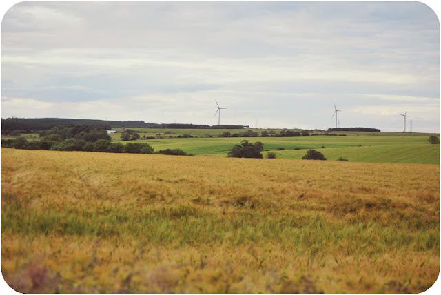 Aberdeenshire countryside Inverugie