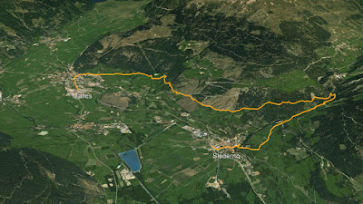 GPS Leitenwaal e Berkwaal a Sluderno