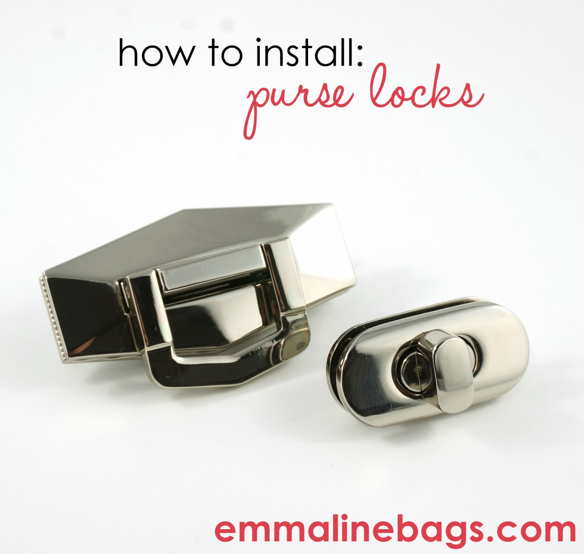 Would You Like To Install A Gorgeous Lock On Your Wallet Bag Satchel Etc But Are Not Sure How Here Some Simple Instructions That I Hope Will Help