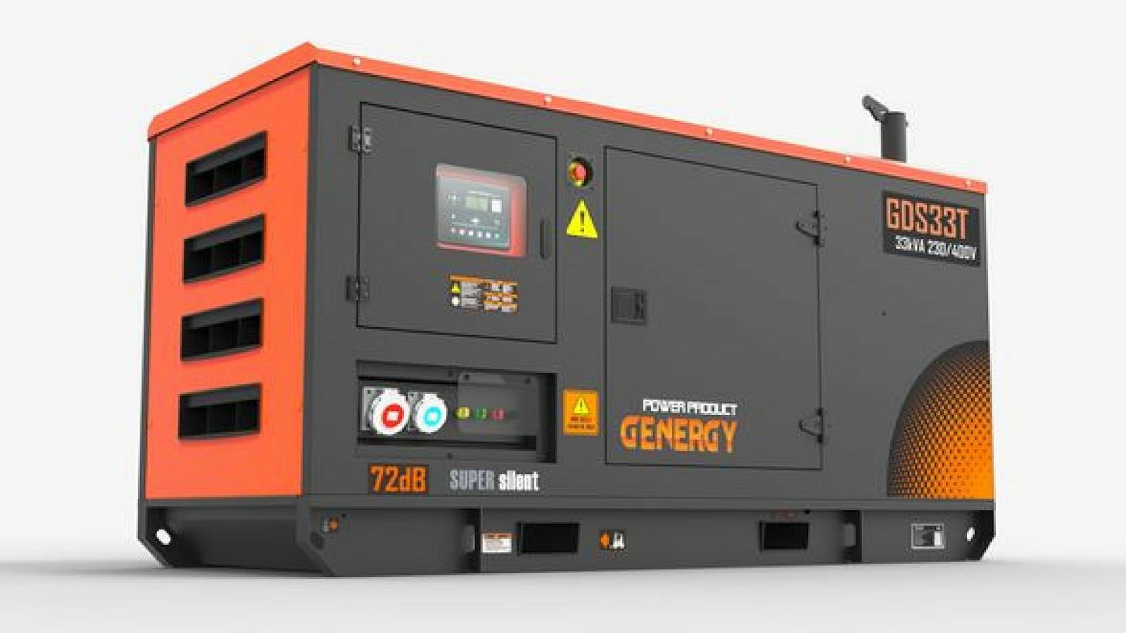 Generador Diesel mediano