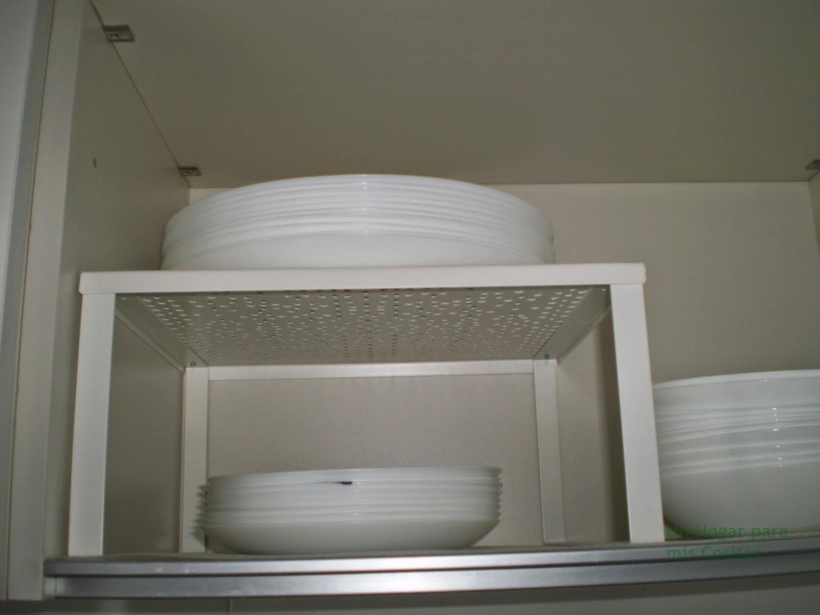 Un hogar para mis cositas orden en la cocina actualizada - Bajo plato ikea ...