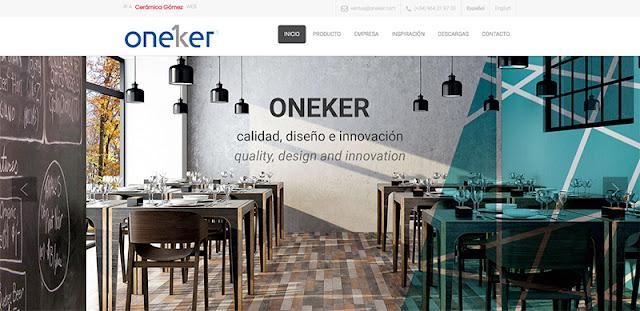 Oneker página web