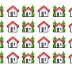 Casitas Emoji Emoticonos Facebook y Twitter