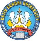Rajiv Gandhi University Recruitment 2016