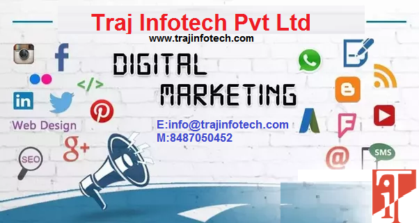 Digital Marketing Services in Ahmedabad - Traj Infotech