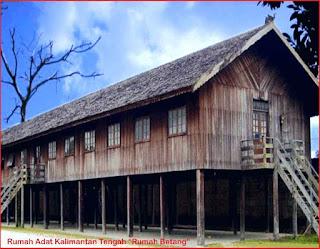 Gambar-Rumah-Adat-Kalimantan-Tengah