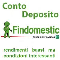 interessi e condizioni del conto deposito findomestic