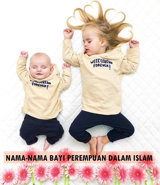 NAMA-NAMA BAYI PEREMPUAN DALAM ISLAM