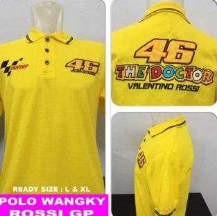 Baju Polo Rossi 46 (Berkerah)