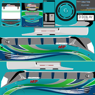 Download Livery Bus MP