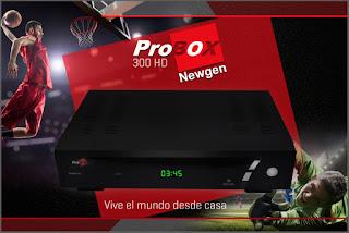 RECOVERY PROBOX PB 300 HD - 27/04/2018