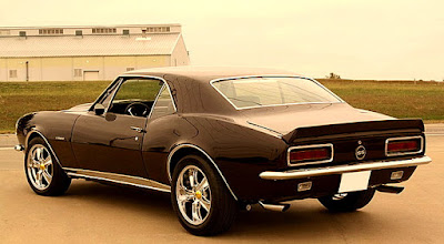 1967 Chevrolet Camaro SS Pro Touring Rear Left
