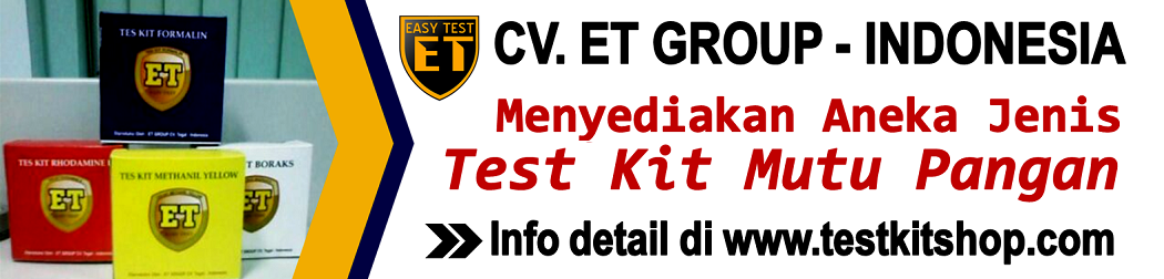 Test Kit Mutu Pangan Murah
