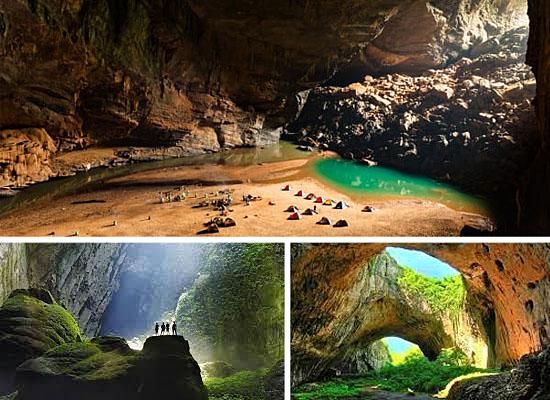 Cavernas mais lindas perigosas - Caverna Son Doong - Vietnã