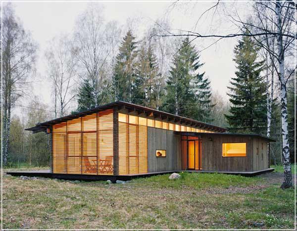 contoh rumah sangat sederhana tapi unik