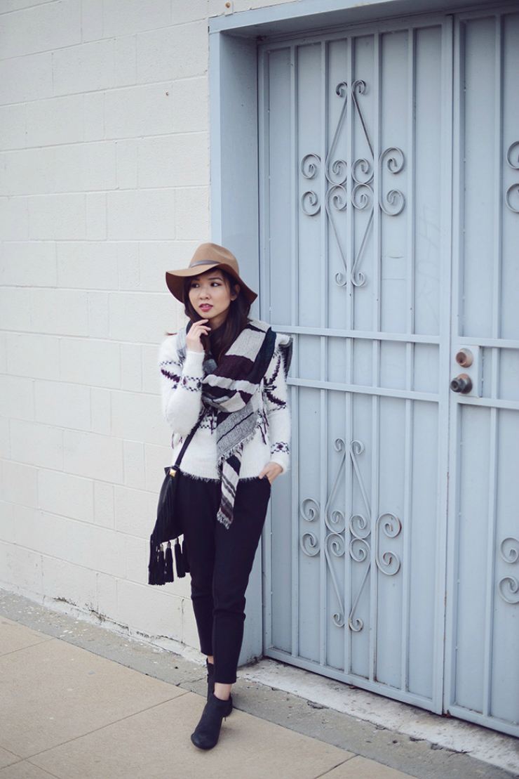 Interview with a fashion blogger , style questions