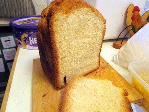 Sour Cream and Vanilla Bread