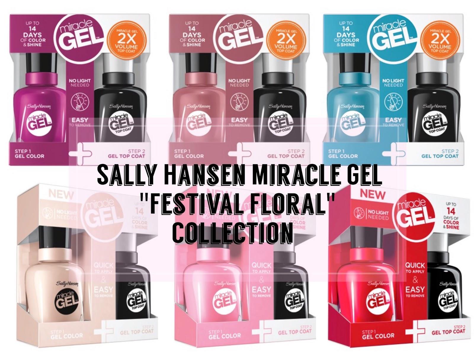 New Sally Hansen Miracle Gel