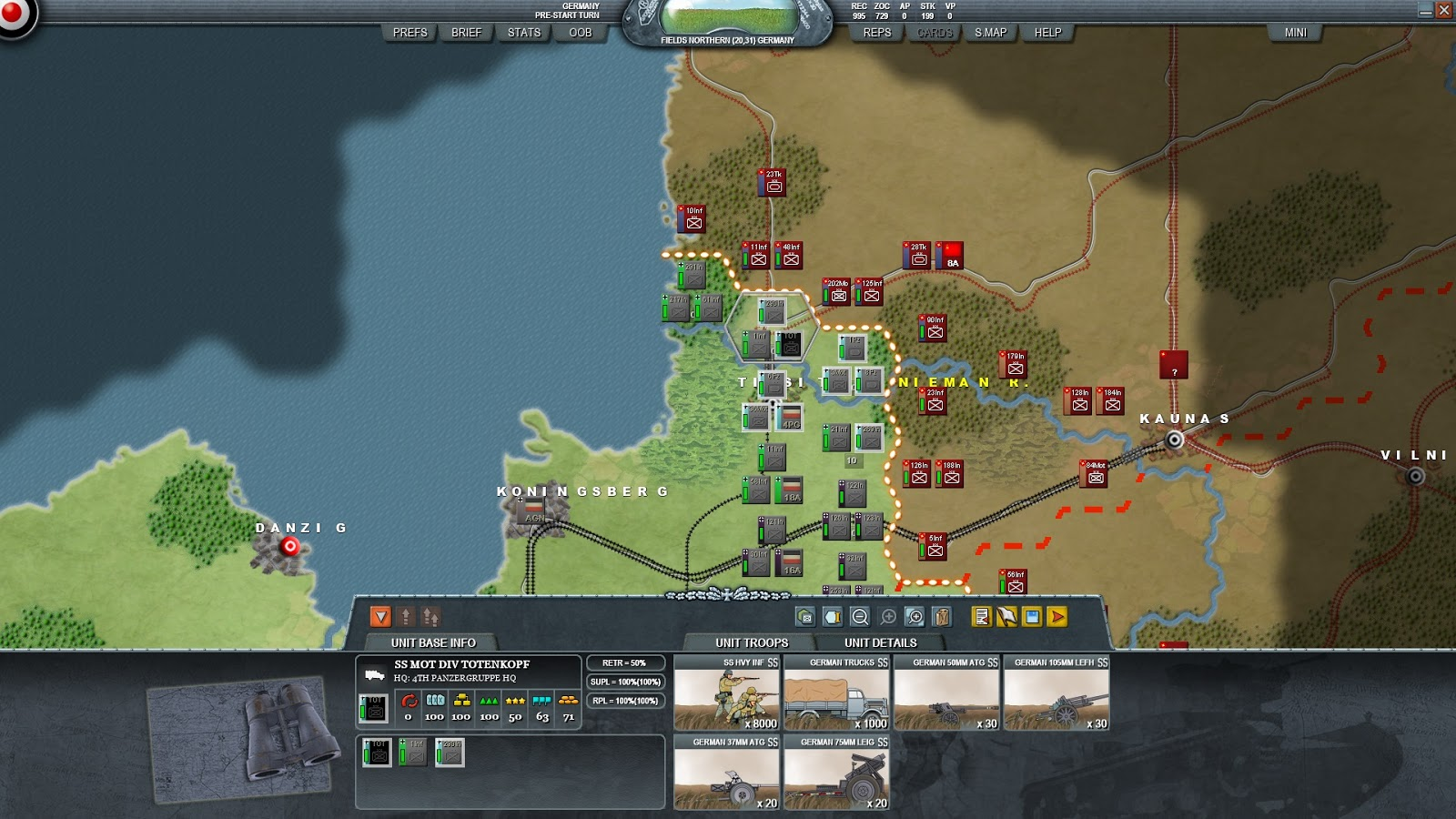 Case Blue Mmp : Decisive campaigns: barbarossa review a wargamers needful things