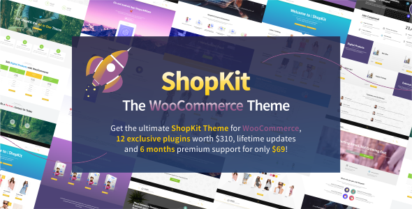 ShopKit v1.5.4 – The WooCommerce Theme