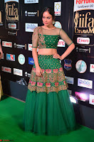Nandita Swetha in a tight Green Choli Ghagra at IIFA Utsavam Awards March 2017 ~ 044.JPG