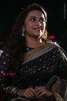 Actress Sri Divya Latest Pos in Black Saree at Sangili Bungili Kathava Thora Tamil Movie Audio Launch  0010.jpg