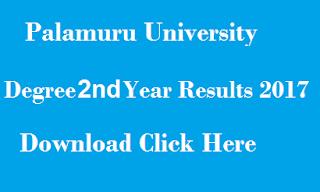 manabadi pu degree 2nd year results 2017