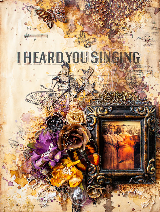 'I Heard You Singing' for Mixed Media & Art