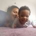 Anna Banner plays with her daughter in adorable photo