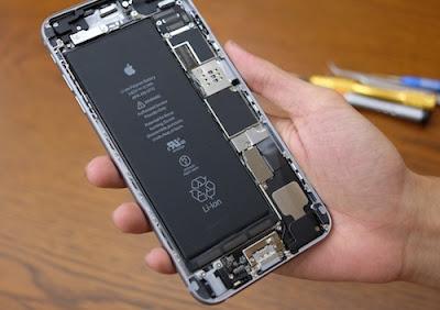 Hướng dẫn thay pin iphone 6 plus tại nhà