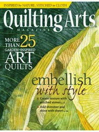 Quilting Arts June/July 2014