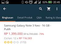 Masih layakah Samsung Galaxy Note 3 Neo 2017
