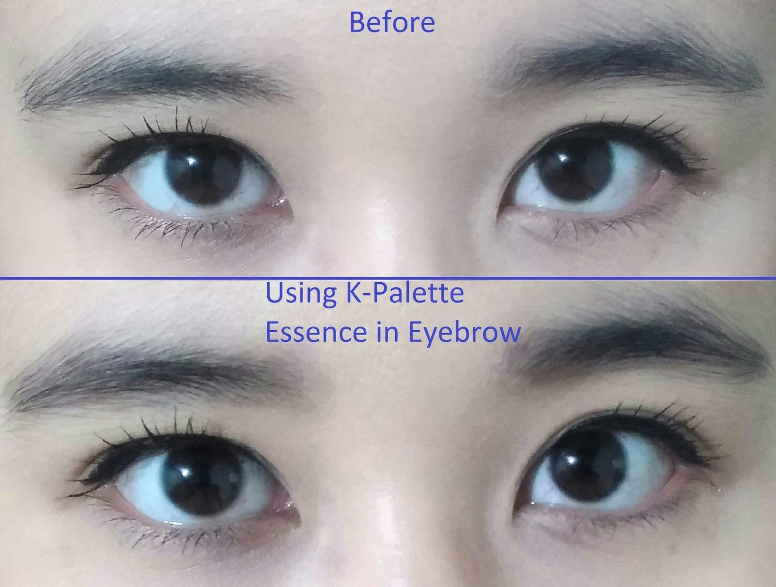 Wateryscenery K Palette W Series Essence In Eyebrow 05 Grayish