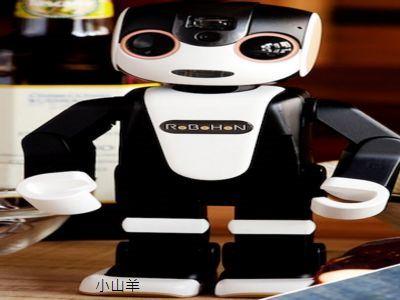 夏普機器人手機