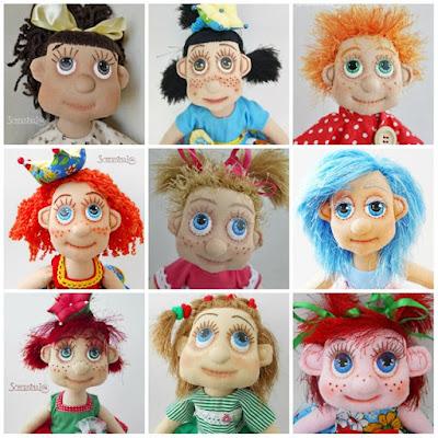 куклы-карамельки Людмилы Щербины