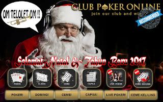 tunggu oleh semua member di Club Poker Online Indonesia tiba Info Om Telolet Om !!! Promo Bonus Natal & Tahun Baru 2017