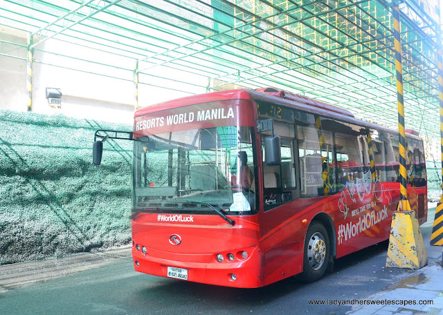 Resorts World free airport shuttle